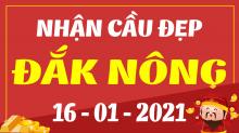 Soi cầu XSDNO 16/1/2021 - Dự đoán xổ số Đắk Nông 16/1/2021 thứ 7