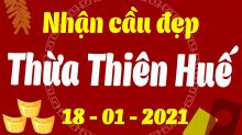 Soi cầu XSTTH 18/1/2021 - Dự đoán xổ số Thừa Thiên Huế 18/1 thứ 2
