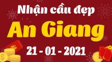 Soi cầu XSAG 21/1/2021 - Dự đoán xổ số An Giang 21/1/2021 thứ 5