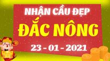 Soi cầu XSDNO 23/1/2021 - Dự đoán xổ số Đắk Nông 23/1/2021 thứ 7