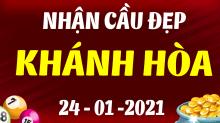 Soi cầu XSKH 24/1/2021 - Dự đoán xổ số Khánh Hòa 24/1/2021 chủ nhật
