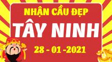 Soi cầu XSTN 28/1/2021 - Dự đoán xổ số Tây Ninh 28/1/2021 thứ 5