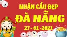 Soi cầu XSDNG 27/1/2021 - Dự đoán xổ số Đà Nẵng 27/1/2021 thứ 4