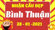 Soi cầu XSBTH 28/1/2021 - Dự đoán xổ số Bình Thuận 28/1/2021 thứ 5
