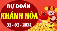 Soi cầu XSKH 31/1/2021 - Dự đoán xổ số Khánh Hòa 31/1/2021 chủ nhật