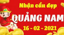 Soi cầu XSQNM 16/2/2021 - Dự đoán xổ số Quảng Nam 16/2/2021 thứ 3