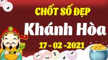 Soi cầu XSKH 17/2/2021 - Dự đoán xổ số Khánh Hòa 17/2/2021 thứ 4