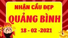 Soi cầu XSQB 18/2/2021 - Dự đoán xổ số Quảng Bình 18/2/2021 thứ 5