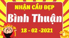 Soi cầu XSBTH 18/2/2021 - Dự đoán xổ số Bình Thuận 18/2/2021 thứ 5