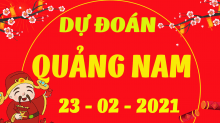 Soi cầu XSQNM 23/2/2021 - Dự đoán xổ số Quảng Nam 23/2/2021 thứ 3