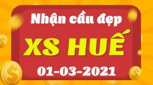 Soi cầu XSTTH 1/3/2021 - Dự đoán xổ số Thừa Thiên Huế 1/3 thứ 2