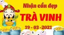 Soi cầu XSTV 19/3/2021 - Dự đoán xổ số Trà Vinh 19/3/2021 thứ 6