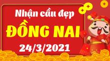 Soi cầu XSDN 24/3/2021 - Dự đoán xổ số Đồng Nai 24/3/2021 thứ 4