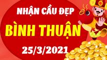Soi cầu XSBTH 25/3/2021 - Dự đoán xổ số Bình Thuận 25/3/2021 thứ 5