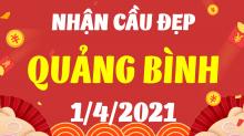 Soi cầu XSQB 1/4/2021 - Dự đoán xổ số Quảng Bình 1/4/2021 thứ 5