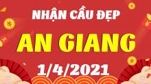 Soi cầu XSAG 1/4/2021 - Dự đoán xổ số An Giang 1/4/2021 thứ 5