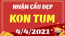 Dự đoán XS Kon Tum 4/4/2021 - Soi cầu xổ số Kon Tum 4/4 hôm nay