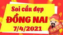 Soi cầu XSDN 7/4/2021 - Dự đoán xổ số Đồng Nai 7/4/2021 thứ 4
