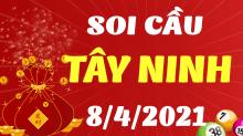 Soi cầu XSTN 8/4/2021 - Dự đoán xổ số Tây Ninh 8/4/2021 thứ 5