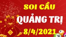 Soi cầu XSQT 8/4/2021 - Dự đoán xổ số Quảng Trị 8/4/2021 thứ 5