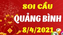 Soi cầu XSQB 8/4/2021 - Dự đoán xổ số Quảng Bình 8/4/2021 thứ 5