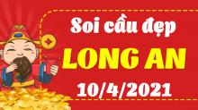 Soi cầu XSLA 10/4/2021 - Dự đoán xổ số Long An 10/4/2021 thứ 7