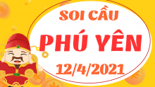 Soi cầu XSPY 12/4/2021 - Dự đoán xổ số Phú Yên 12/4/2021 thứ 2