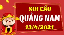 Soi cầu XSQNM 13/4/2021 - Dự đoán xổ số Quảng Nam 13/4/2021 thứ 3