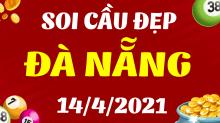 Soi cầu XSDNG 14/4/2021 - Dự đoán xổ số Đà Nẵng 14/4/2021 thứ 4
