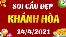 Soi cầu XSKH 14/4/2021 - Dự đoán xổ số Khánh Hòa 14/4/2021 thứ 4