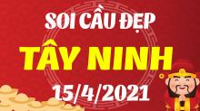 Soi cầu XSTN 15/4/2021 - Dự đoán xổ số Tây Ninh 15/4/2021 thứ 5