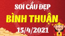 Soi cầu XSBTH 15/4/2021 - Dự đoán xổ số Bình Thuận 15/4/2021 thứ 5