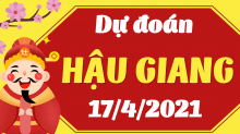 Soi cầu XSHG 17/4/2021 - Dự đoán xổ số Hậu Giang 17/4/2021 thứ 7