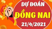 Soi cầu XSDN 21/4/2021 - Dự đoán xổ số Đồng Nai 21/4/2021 thứ 4