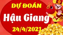 Soi cầu XSHG 24/4/2021 - Dự đoán xổ số Hậu Giang 24/4/2021 thứ 7