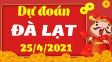 Soi cầu XSDL 25/4/2021 - Dự đoán xổ số Đà Lạt 25/4/2021 chủ nhật