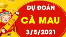 Soi cầu XSCM 3/5/2021 - Dự đoán xổ số Cà Mau 3/5/2021 thứ 2