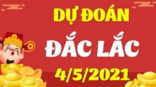 Soi cầu XSDLK 4/5/2021 - Dự đoán xổ số Đắk Lắk 4/5/2021 thứ 3