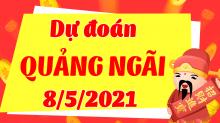 Soi cầu XSQNG 8/5/2021 - Dự đoán xổ số Quảng Ngãi 8/5/2021 thứ 7