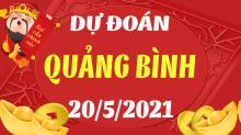 Soi cầu XSQB 20/5/2021 - Dự đoán xổ số Quảng Bình 20/5/2021 thứ 5