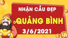 Soi cầu XSQB 3/6/2021 - Dự đoán xổ số Quảng Bình 3/6/2021 thứ 5