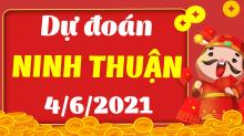 Soi cầu XSNT 4/6/2021 - Dự đoán xổ số Ninh Thuận 4/6/2021 thứ 6