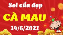 Soi cầu XSCM 14/6/2021 - Dự đoán xổ số Cà Mau 14/6/2021 thứ 2