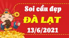 Soi cầu XSDL 13/6/2021 - Dự đoán xổ số Đà Lạt 13/6/2021 chủ nhật