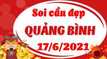 Soi cầu XSQB 17/6/2021 - Dự đoán xổ số Quảng Bình 17/6/2021 thứ 5