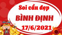 Soi cầu XSBDI 17/6/2021 - Dự đoán xổ số Bình Định 17/6/2021 thứ 5