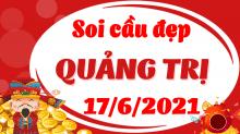 Soi cầu XSQT 17/6/2021 - Dự đoán xổ số Quảng Trị 17/6/2021 thứ 5