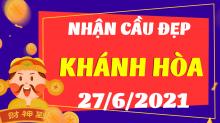 Soi cầu XSKH 27/6/2021 - Dự đoán xổ số Khánh Hòa 27/6/2021 chủ nhật