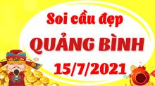 Soi cầu XSQB 15/7/2021 - Dự đoán xổ số Quảng Bình 15/7/2021 thứ 5