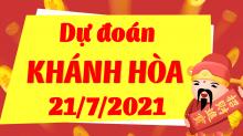 Soi cầu XSKH 21/7/2021 - Dự đoán xổ số Khánh Hòa 21/7/2021 thứ 4